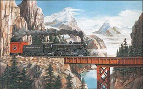Train-Enthusiast Summit Pass Puzzle 550 pc