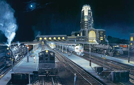 Train-Enthusiast Midnight Buffalo 550 pc