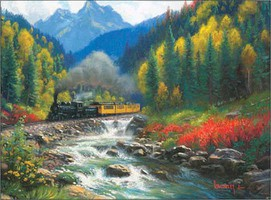 Train-Enthusiast Durango & Silverton Puzzl