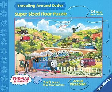 Thomas Amp Friends 24 Piece Floor Puzzle Traveling Around