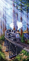 Train-Enthusiast Redwood Sidewinder 1000pc