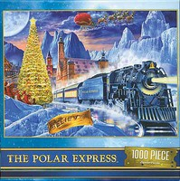 Train-Enthusiast Polar Exprs Puzzle 1000pc