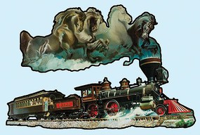 Train-Enthusiast Horse of Iron 1000pc shp