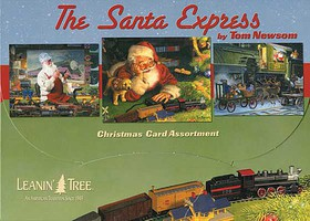 Train-Enthusiast Santa Express XmasCard10/