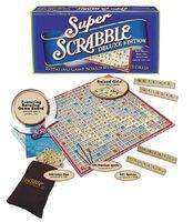 Traditional Super Scrabble Classic Board Game Word Game #1079