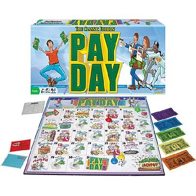 Traditional Games Pay Day Classic Edition Board Game -- Activity Skill Game -- #1087