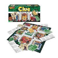 Traditional Clue Classic Edition Board Game Activity Skill Game #1137