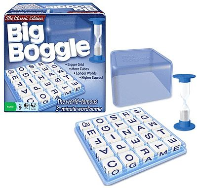 Traditional Games Big Boggle Classic World-Famous Word Game -- Word Game -- #1147
