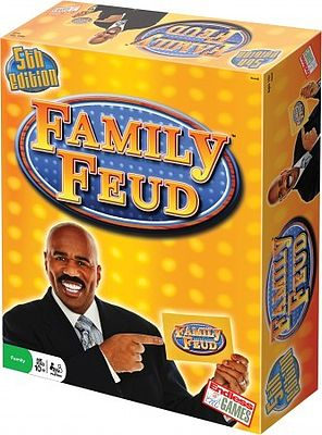 Traditional Games Family Feud TV Game Show Game 5th Edition -- Activity Skill Game -- #310