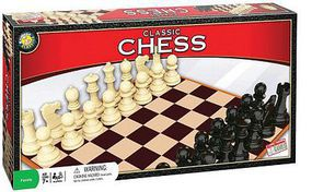 Traditional Classic Chess Set Game Activity Skill Game #6010