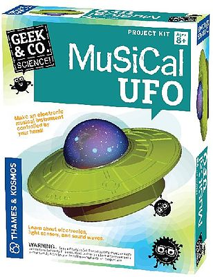 Thames and Kosmos Geek & Co Science Musical UFO Kit -- Educational Science Kit -- #550008