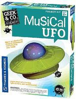 ThamesKosmos Geek & Co Science Musical UFO Kit Educational Science Kit #550008