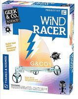 ThamesKosmos Geek & Co Science Wind Racer Kit Educational Science Kit #550016