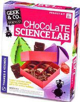 ThamesKosmos Geek & Co Science Chocolate Science Lab Kit Educational Science Kit #550019