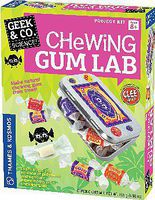 ThamesKosmos Geek & Co Science Chewing Gum Lab Kit Educational Science Kit #550023