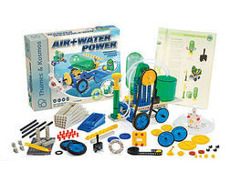 ThamesKosmos Air & Water Power Science Construction Kit Educational Science Kit #555001