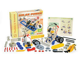 ThamesKosmos Solar Power Science Construction Kit Educational Science Kit #555006