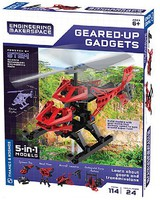ThamesKosmos Geared-Up Gadgets 5-in-1 Models STEM Experiment Kit