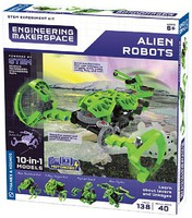 ThamesKosmos Alien Robots 10-in-1 Model STEM Experiment Kit