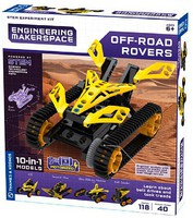 ThamesKosmos Off-Road Rovers 10-in-1 Model Experiment Kit