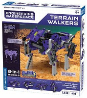 ThamesKosmos Terrain Walkers 3-in-1 Models STEM Experiment Kit