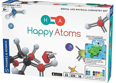 Thames and Kosmos Happy Atoms Digital & Physical Chemistry Set