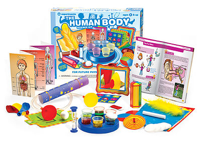Thames and Kosmos Little Labs Human Body Beginner Experiment Kit -- Science Experiment Kit -- #602093