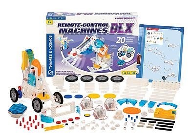 Thames and Kosmos Remote Control Machines DLX Science Construction Kit -- Science Engineering Kit -- #620370