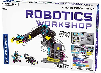 Thames and Kosmos Robotics Workshop Intro to Robot Design Creative STEM Experiment Kit