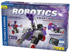 ThamesKosmos Robotics Smart Machines Rovers & Vehicles STEM Engineering Kit