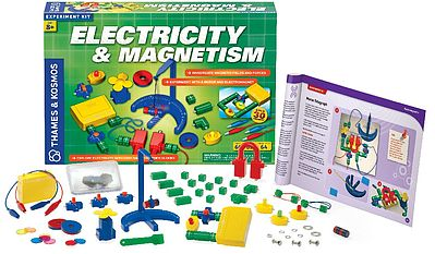 Thames and Kosmos Electricity & Magnetism Experiment Kit -- Science Experiment Kit -- #620417