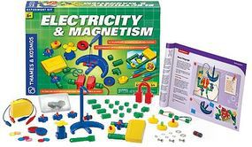 ThamesKosmos Electricity & Magnetism Experiment Kit Science Experiment Kit #620417