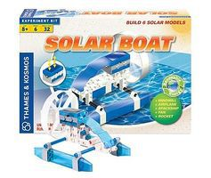 ThamesKosmos Solar Boat Science Construction Kit Educational Science Kit #622411