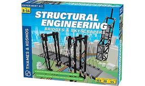 ThamesKosmos Structural Engineering Bridges & Skyscrapers Experiment Kit