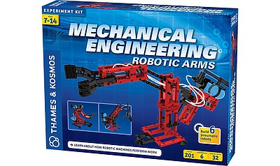 Thames and Kosmos Mechanical Engineering Robotic Arms Experiment Kit