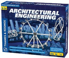 ThamesKosmos Architectural Engineering STEM Experiment Kit