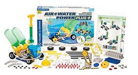 ThamesKosmos Air & Water Power Plus Science Construction Kit Educational Science Kit #628413