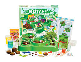 ThamesKosmos Little Labs Botany Greenhouse Beginner Experiment Kit Science Experiment Kit #635022