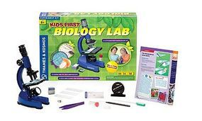 ThamesKosmos Kids First Biology Lab Experiment Kit Science Experiment Kit #635213