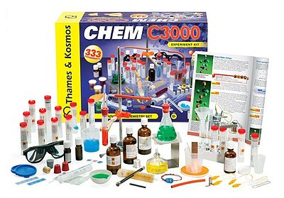 Thames and Kosmos Chem C3000 Chemistry Experiment Kit -- Chemistry Kit -- #640132