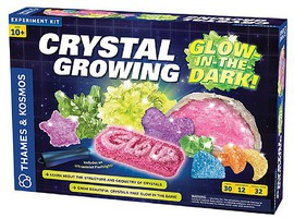 ThamesKosmos Crystals Growing Glow-in-the-Dark Experiment Kit
