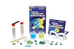 ThamesKosmos Color-Changing Crystals Growing Experiment Kit Science Experiment Kit #659240