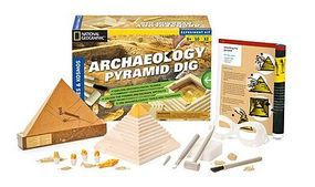 ThamesKosmos National Geographic Archaeology Pyramid Science Activity Kit Science Experiment Kit #665001