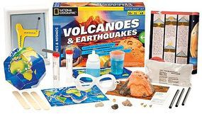 ThamesKosmos National Geographic Volcanoes & Earthquakes Experiment Kit Science Experiment Kit #665081