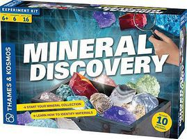 ThamesKosmos Mineral Discovery Experiment Kit Science Experiment Kit #665105