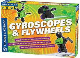 ThamesKosmos Gyroscopes & Flywheels Experiment Activity Kit Science Experiment Kit #665106
