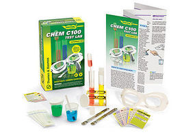 ThamesKosmos Chem C100 Test Lab Experiment Kit Chemistry Kit #713164