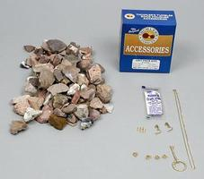 Thumler-Tru-Square Accy Kit (#302 Grit/Plshng Rocks/Jewlery Kit)