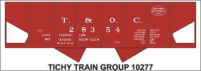 Tichy-Train HO T&OC(NYC)USRA Hopper Decal