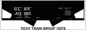 Tichy-Train HO DL&W USRA Hopper Decal